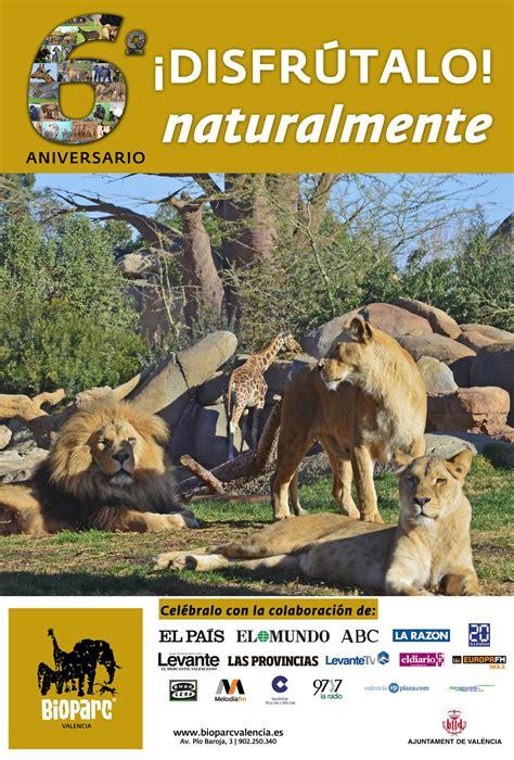 Bioparc Valencia celebra el 6º aniversario con todos los ...