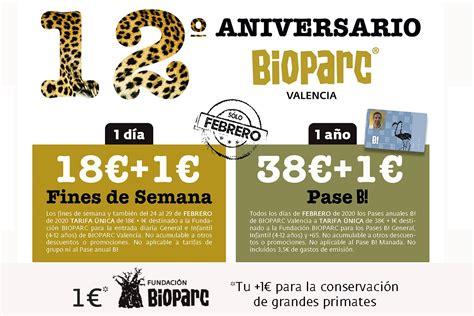 BIOPARC Valencia celebra su 12º aniversario con una ...