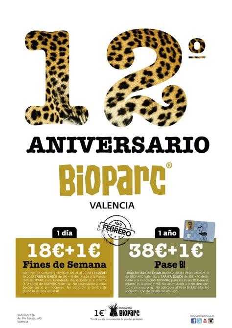 Bioparc Valencia celebra su aniversario con una promoción ...