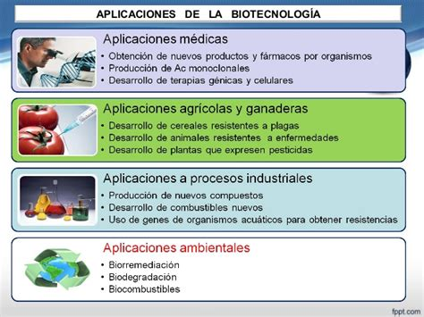 Biotecnologia y sus aplicaciones ambientales