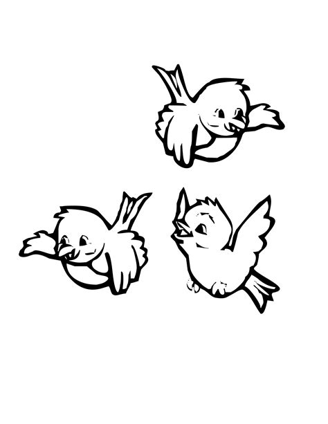 Bird Coloring Pages