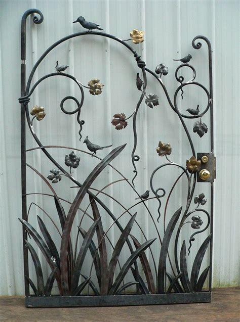 Bird gate  1  | Iron garden gates, Garden gates, Metal design