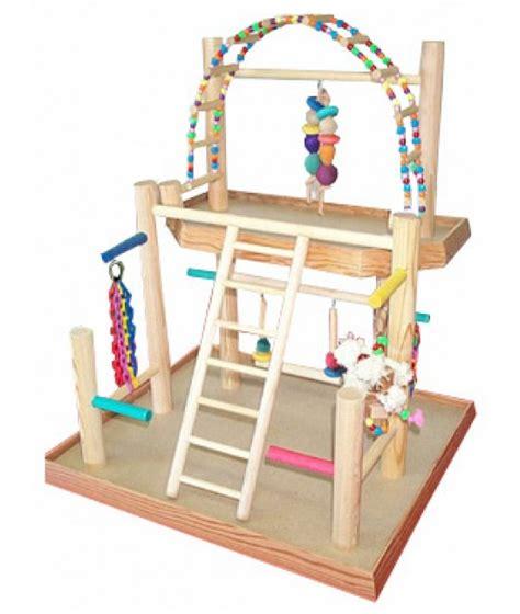 Bird Gyms   Presented by BirdsComfort.com