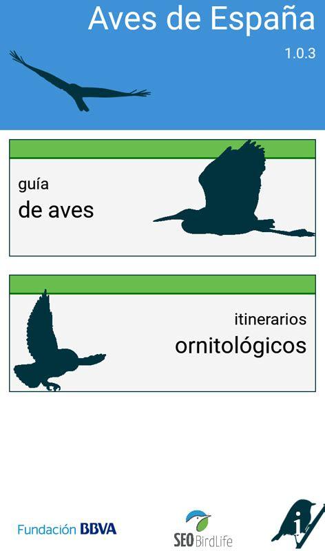 Birding Catalunya: App: Aves de España, de SEO/Birdlife