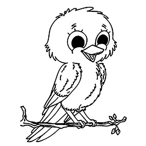 Birds for kids   Birds Kids Coloring Pages