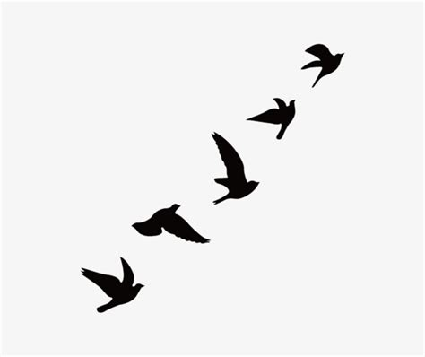 Birds Silhouette at GetDrawings | Free download