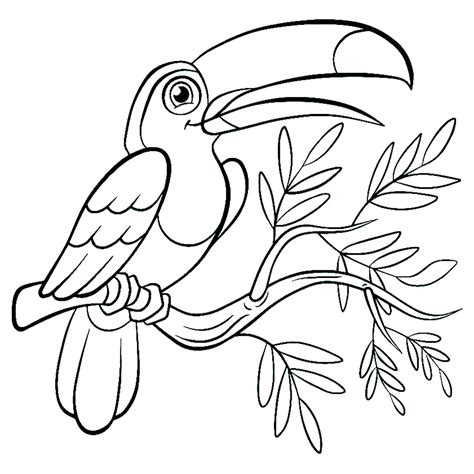 Birds to color for children   Birds Kids Coloring Pages