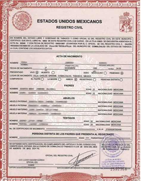 Birth Certificate Translation Services: Certified ...