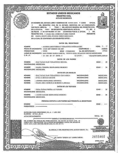 Birth Certificate Translation Services Chicago | BURG ...