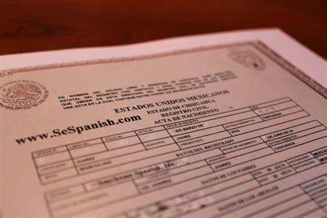 Birth Certificate Translation | Southeast Spanish, Inc.