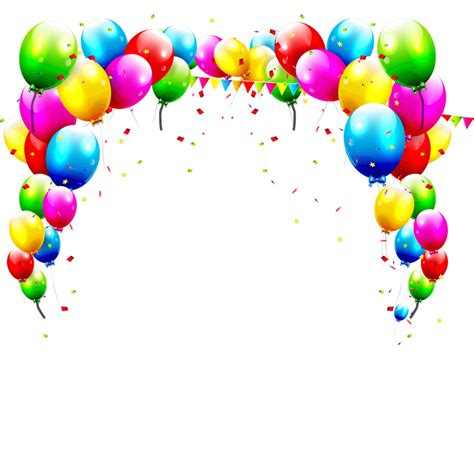 Birthday Balloons Background PNG Image Free Download ...