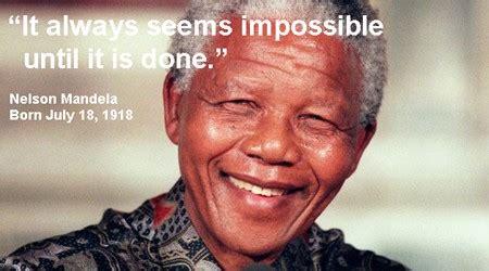 Birthday Tribute: Nelson Mandela s five most memorable ...