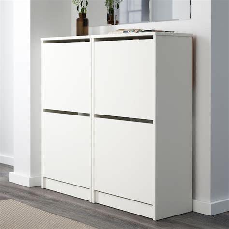 BISSA Zapatero 2, blanco, 49x93 cm   IKEA