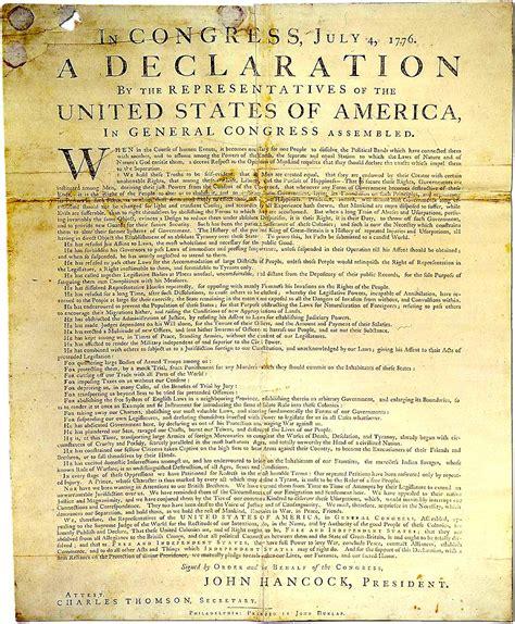 BIU   4th july 1776 Independance Declaration