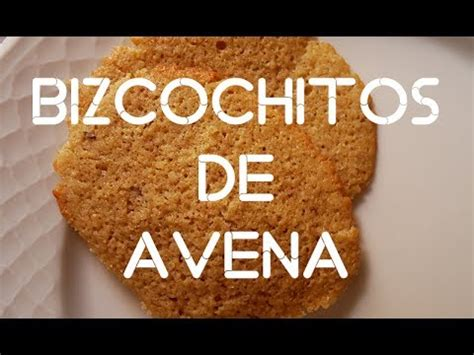 Bizcochitos de avena rápidos   YouTube