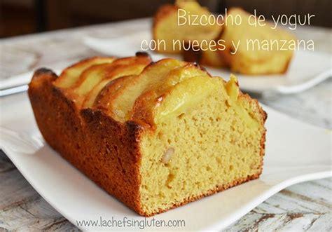 Bizcocho  Budín  de Yogur con Nueces y Manzana | Modo ...