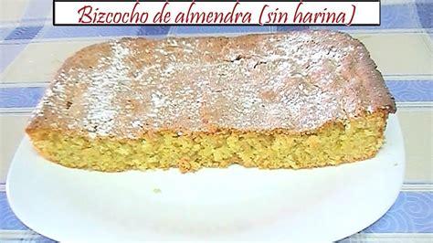 Bizcocho de almendra sin harina | Receta de Cocina en ...