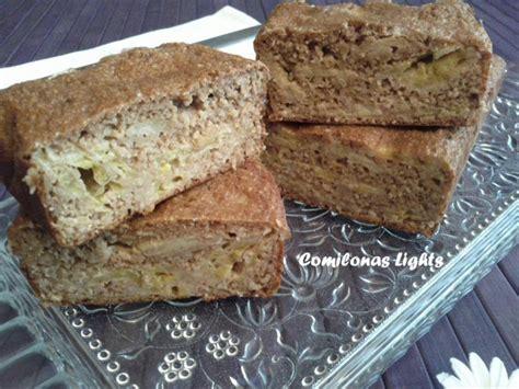 Bizcocho de avena plátano y chocolate | Mil sabores & olores