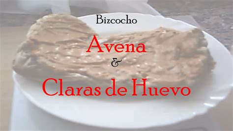Bizcocho de Avena y Claras de Huevo | Recetas | Pepillu ...
