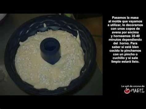 Bizcocho de avena y yogur sin azúcar y sin grasas   La web ...