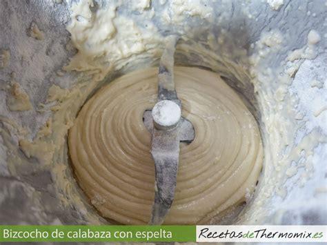 Bizcocho de calabaza con harina de espelta en Thermomix ...