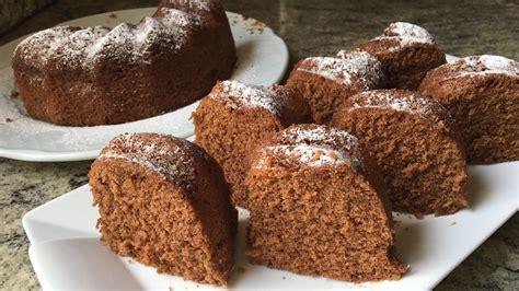 Bizcocho de chocolate al microondas  tierno y esponjoso en ...