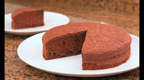 Bizcocho de Chocolate Básico | Fácil Delicioso y Esponjoso ...