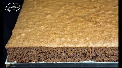 Bizcocho de chocolate gigante para tartas húmedas o con ...