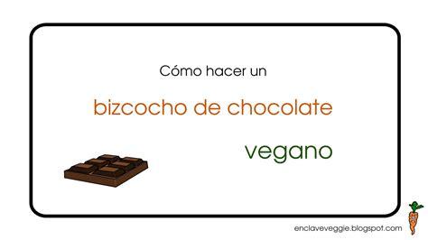 Bizcocho de chocolate vegano  Vegan chocolate cake    YouTube