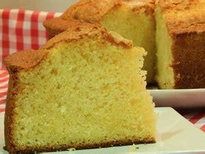 Bizcocho de limón sin azúcar   Receta Fácil Casera