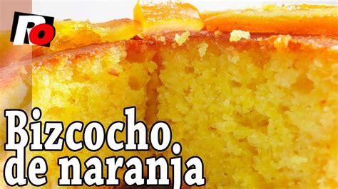 Bizcocho de naranja fácil   Recetas de cocina   YouTube