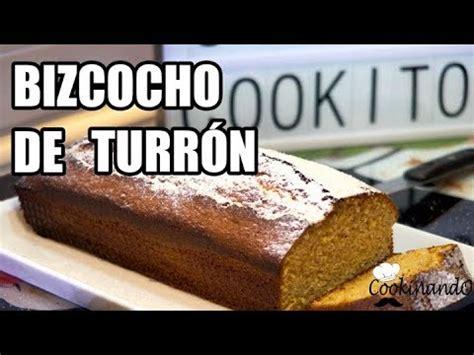 BIZCOCHO DE TURRON THERMOMIX   YouTube