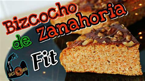 BIZCOCHO DE ZANAHORIA FIT  carrot cake  | Recetas Fitness ...