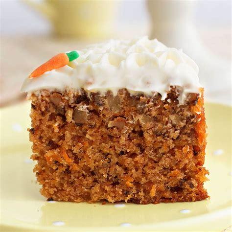 Bizcocho de Zanahoria o Carrot Cake    Receta Irresistible