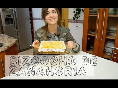 Bizcocho de zanahoria ¡Rico y sano!   YouTube