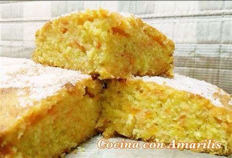 BIZCOCHO DE ZANAHORIA Y COCO. | Cocina con Amarilis
