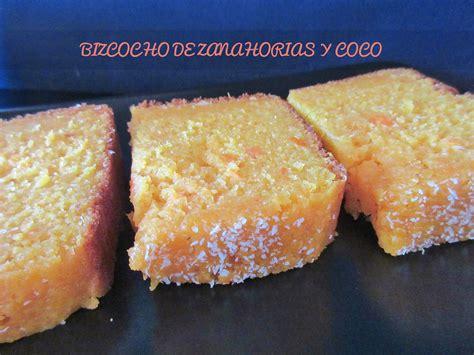 BIZCOCHO DE ZANAHORIA Y COCO panificadora | COCINA CON REINA