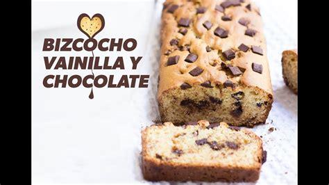 Bizcocho esponjoso de vainilla y chocolate  MUY FACIL ...