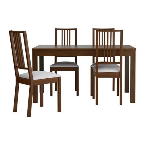 BJURSTA / BÖRJE Table and 4 chairs   IKEA