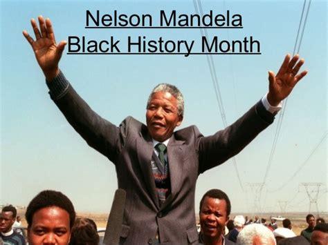 Black history month civics nelson mandela