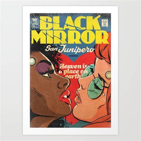 Black Mirror   San Junipero Art Print by simonwilliamson ...
