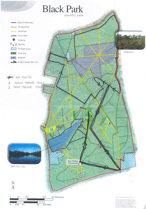 Black Park Approved Run Route | Burnham Joggers Running Club