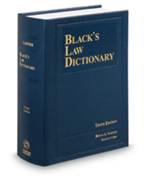 Black s Law Dictionary, 10th   Legal Solutions