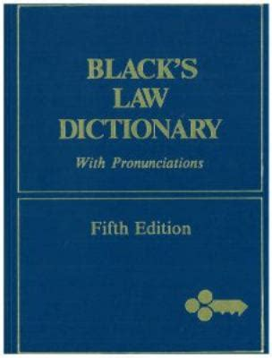 Black s Law Dictionary 5th Edition   Rent 9780829920413 ...