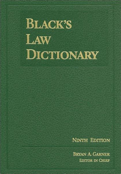 Black s Law Dictionary, Deluxe 9th / Edition 9 by Bryan A ...