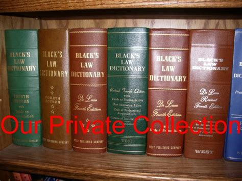 Black s Law Dictionary Fourth Edition Collection