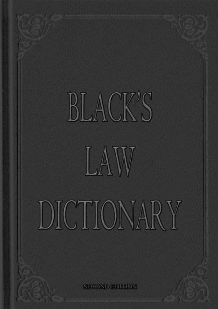 Black s Law Dictionary [ Second Edition ] by Henry ...