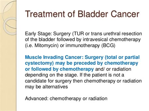 Bladder Cancer Treatment – Surgical and Non Surgical ...