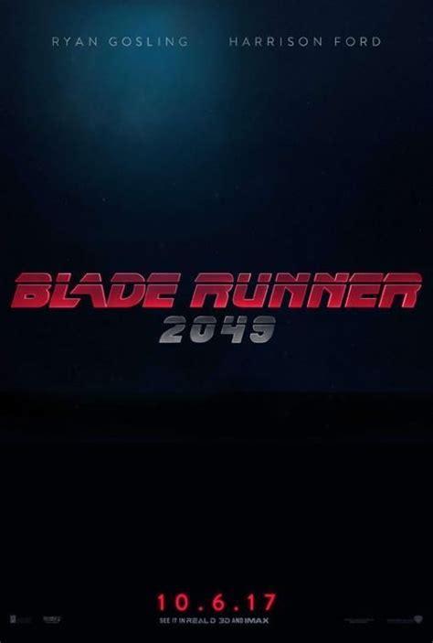 Blade Runner 2049  2017    FilmAffinity | Blade runner ...