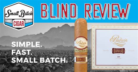 BLIND Padron Damaso Review | Best Online Cigar Shopping ...